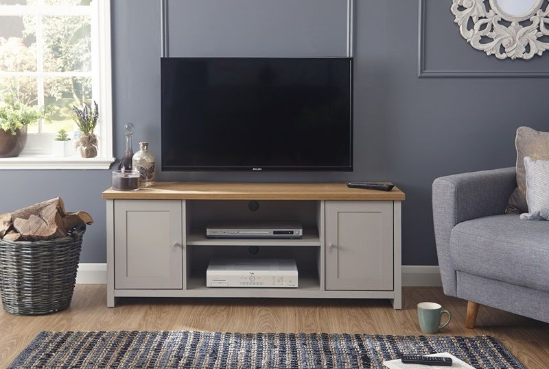 Large Tv Cabinet, Living Room With Regard To Lancaster Corner Tv Stands (View 9 of 10)
