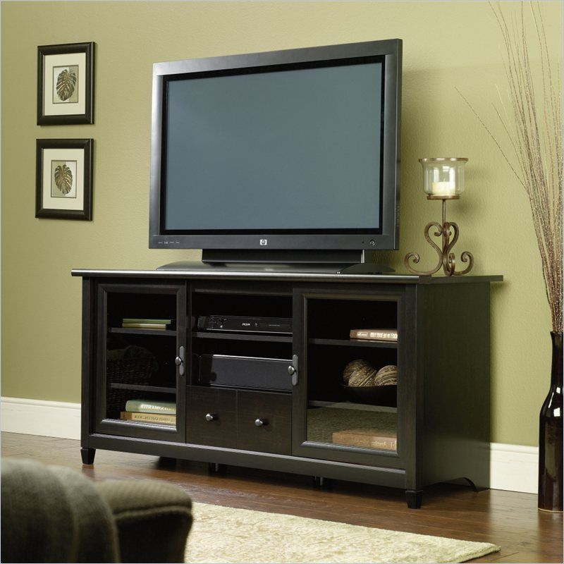 Large Tv Throughout Mainstays 3 Door Tv Stands Console In Multiple Colors (View 3 of 10)