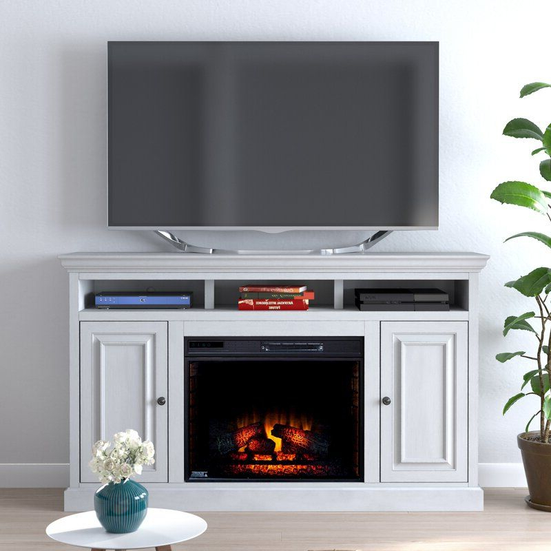 """Latest Colomiers Solid Wood Tv Stand For Tvs Up To 75"""" With Intended For Chrissy Tv Stands For Tvs Up To 75"""" (View 24 of 25)"""