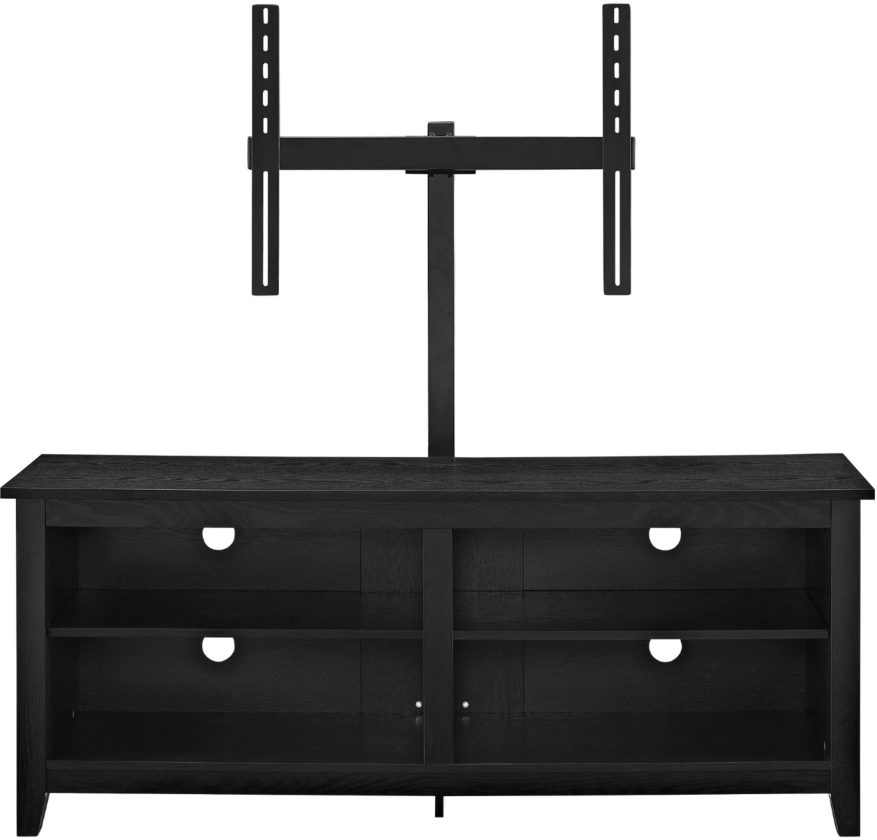 """Latest Margulies Tv Stands For Tvs Up To 60"""" Intended For Walker Edison Tv Stand With Adjustable Removable Mount For (View 22 of 25)"""