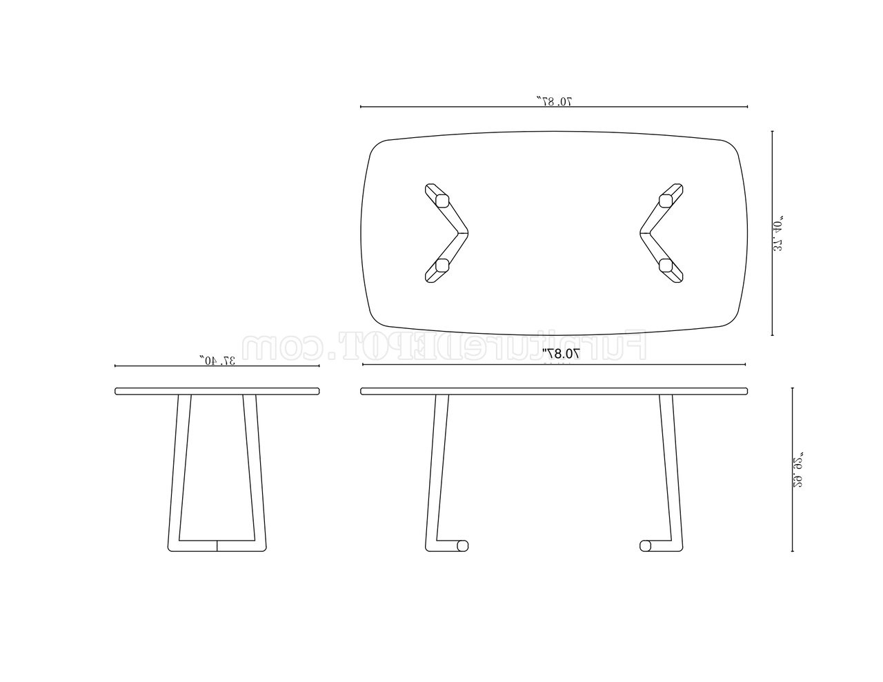 Latest Samira Tv Stands Pertaining To Samira Dining Table Set In Walnutchintaly W/options (View 5 of 10)