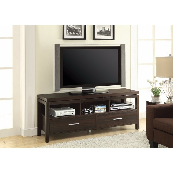 """Latest Solid Wood Tv Stands For Tvs Up To 65"""" Throughout Orren Ellis Posselli Solid Wood Tv Stand For Tvs Up To  (View 18 of 25)"""