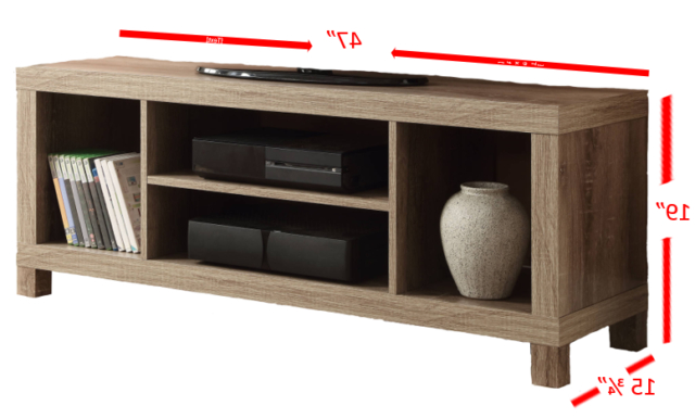 Latest Tv Stand Unit With Cabinet Console Swivel Shelves With Mainstays 4 Cube Tv Stands In Multiple Finishes (View 1 of 10)