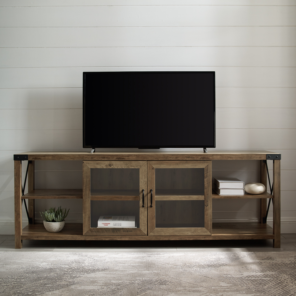 Latest Woven Paths Franklin Grooved Two Door Tv Stands Pertaining To Pin On Decoration Ideas (View 9 of 10)