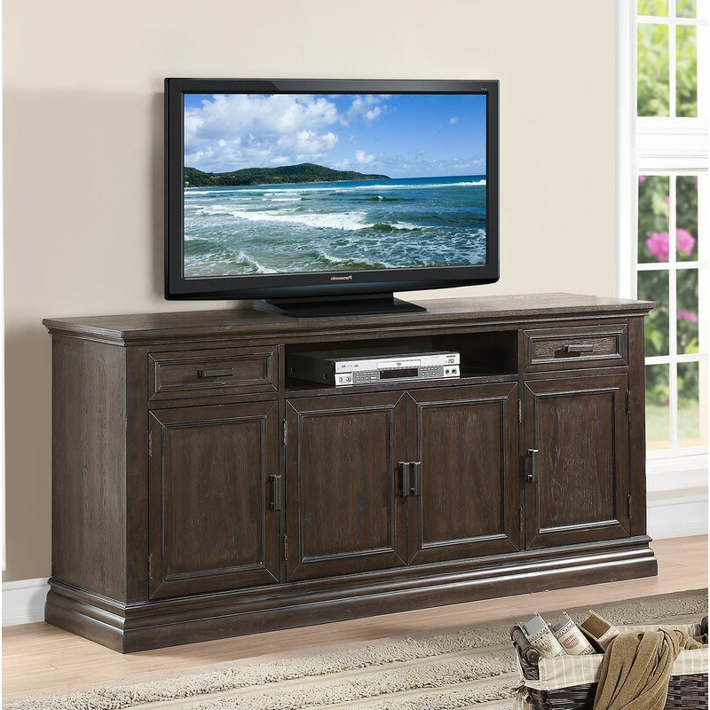 """Laurel Foundry Modern Farmhouse Fortunat Tv Stand For Tvs Inside Current Gosnold Tv Stands For Tvs Up To 88"""" (View 20 of 25)"""