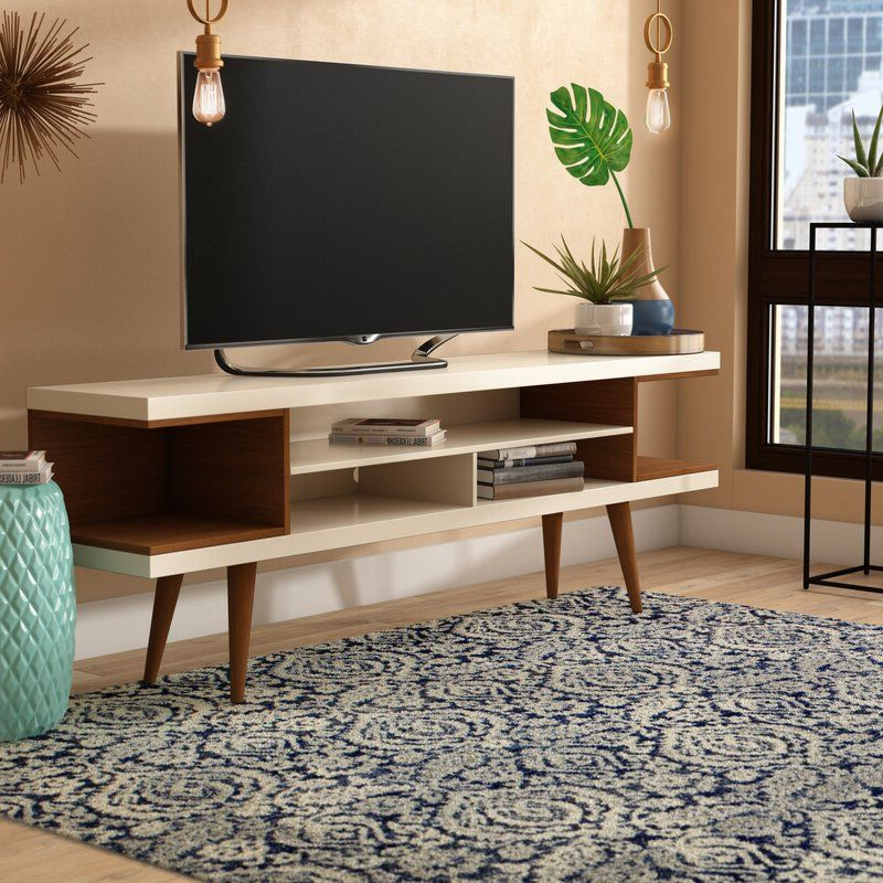"""Lemington Tv Stand For Tvs Up To 78"""" In 2020 Intended For Latest Grandstaff Tv Stands For Tvs Up To 78"""" (View 16 of 25)"""