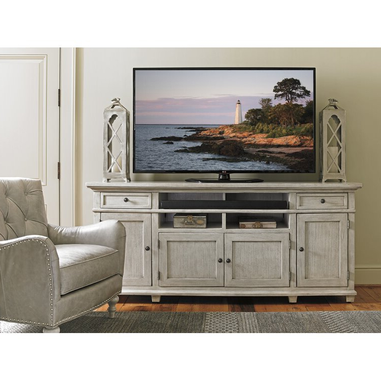 """Lexington Oyster Bay Tv Stand For Tvs Up To 85"""" & Reviews Regarding Most Recently Released Bustillos Tv Stands For Tvs Up To 85"""" (View 5 of 25)"""