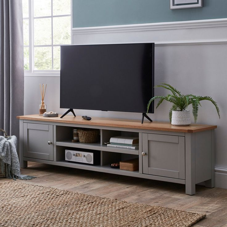 Living Room Tv Stand In Bromley Oak Tv Stands (View 23 of 25)