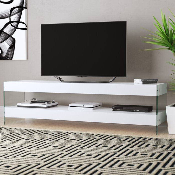 """Logan Tv Stands Inside Recent Wade Logan® Thane Tv Stand For Tvs Up To 65"""" & Reviews (View 10 of 10)"""