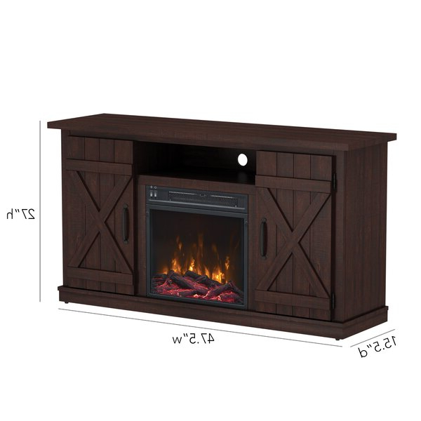"""Lorraine Tv Stands For Tvs Up To 60"""" With Fireplace Included In Widely Used Lorraine Tv Stand For Tvs Up To 55"""" With Electric (View 13 of 25)"""