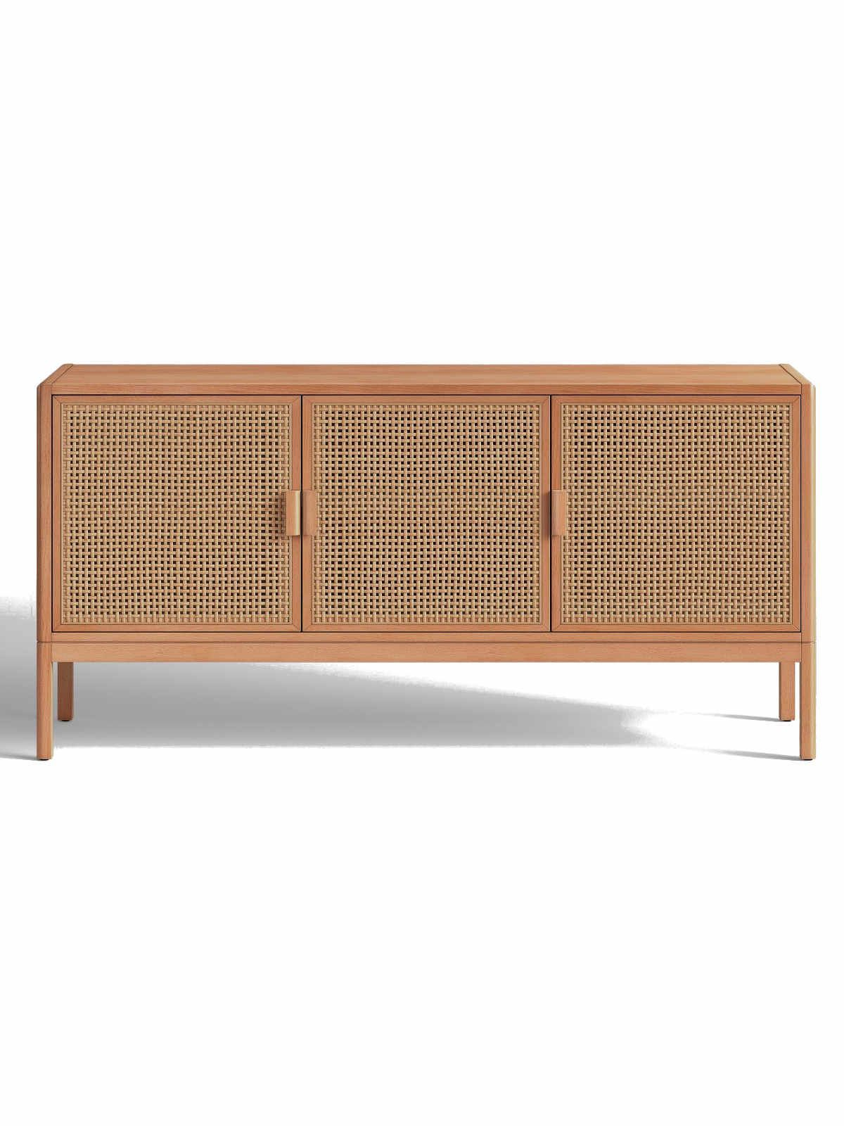 Lucy Cane Cream Corner Tv Stands In Well Known Natural Brown Opalhouse Minsmere Caned Tv Stand Natural (View 18 of 25)