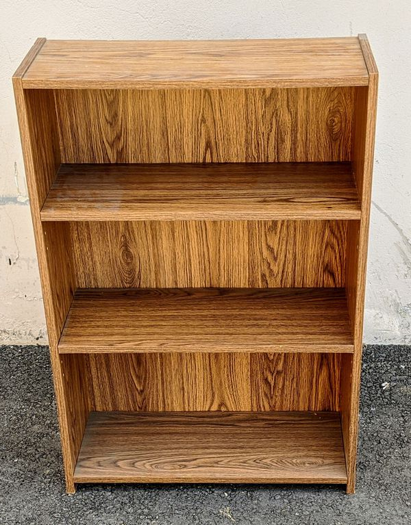 Lucy Cane Grey Wide Tv Stands Intended For Well Liked 3 Shelf Bookcase For Sale In Los Angeles, Ca – Offerup (View 15 of 25)