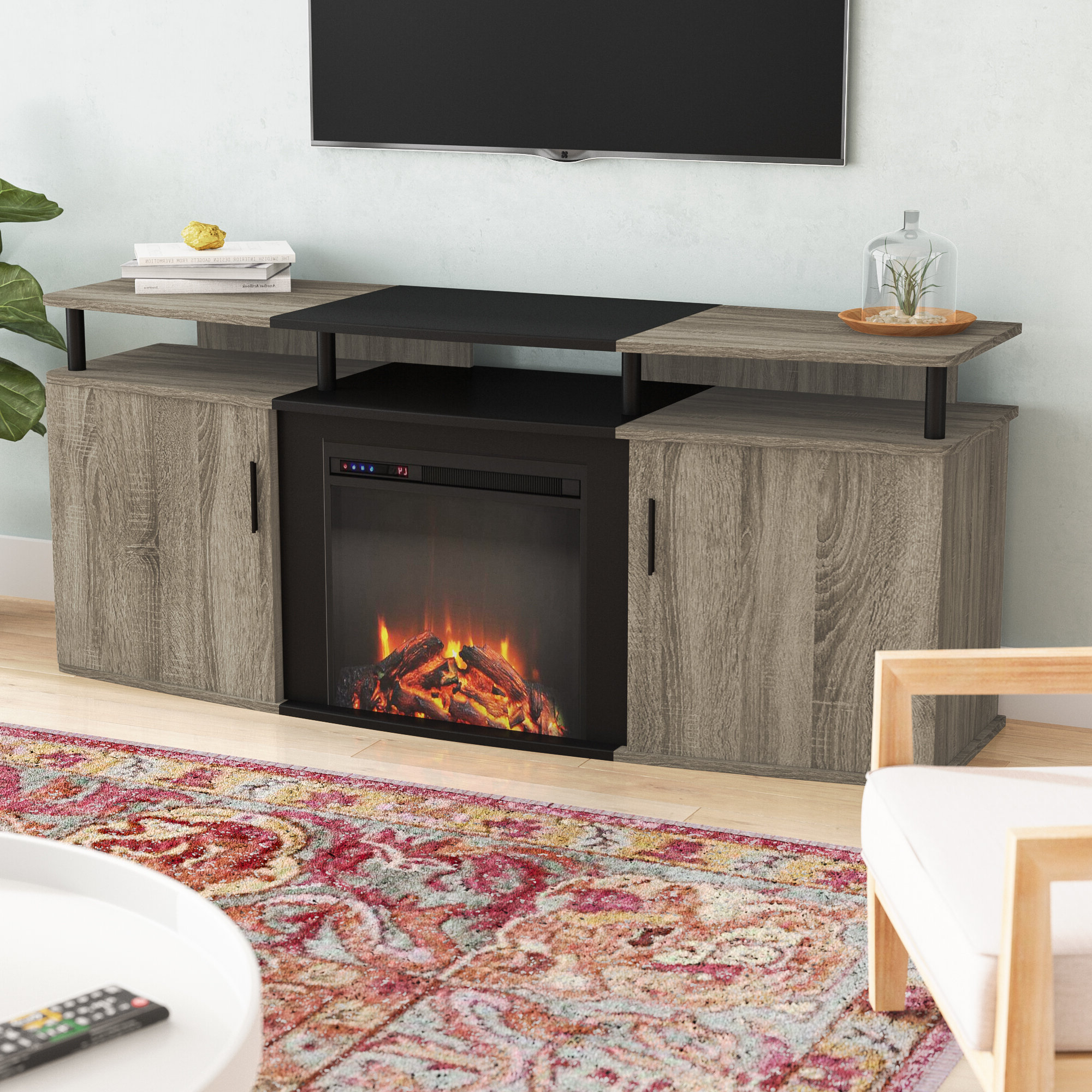 """Mainor Tv Stands For Tvs Up To 70"""" For Most Popular Fireplace Tv Stand 70 Inch – Ideas On Foter (View 17 of 25)"""