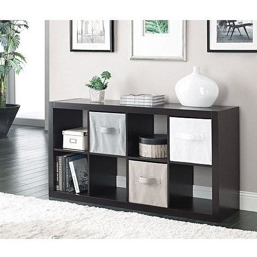 Mainstays 4 Cube Tv Stands In Multiple Finishes With Fashionable Better Homes And Gardens 8 Cube Organizer, Multiple (View 7 of 10)