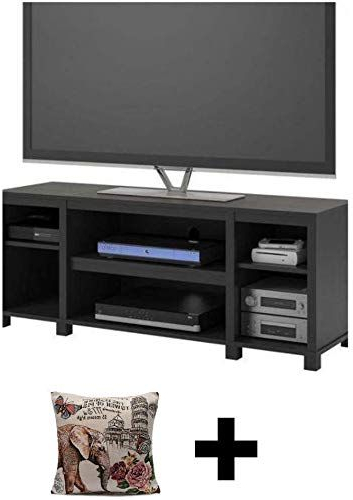 Mainstays Parsons Tv Stands With Multiple Finishes Inside Favorite New Mainstay Parsons Cubby Tv Stand Holds Up To 50 Tv (View 5 of 10)