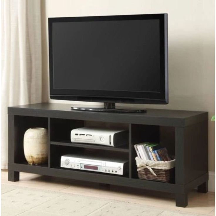 """Mainstays Parsons Tv Stands With Multiple Finishes With Regard To Famous Mainstays Tv Stand For Tvs Up To 42"""", Multiple Colors (View 3 of 10)"""