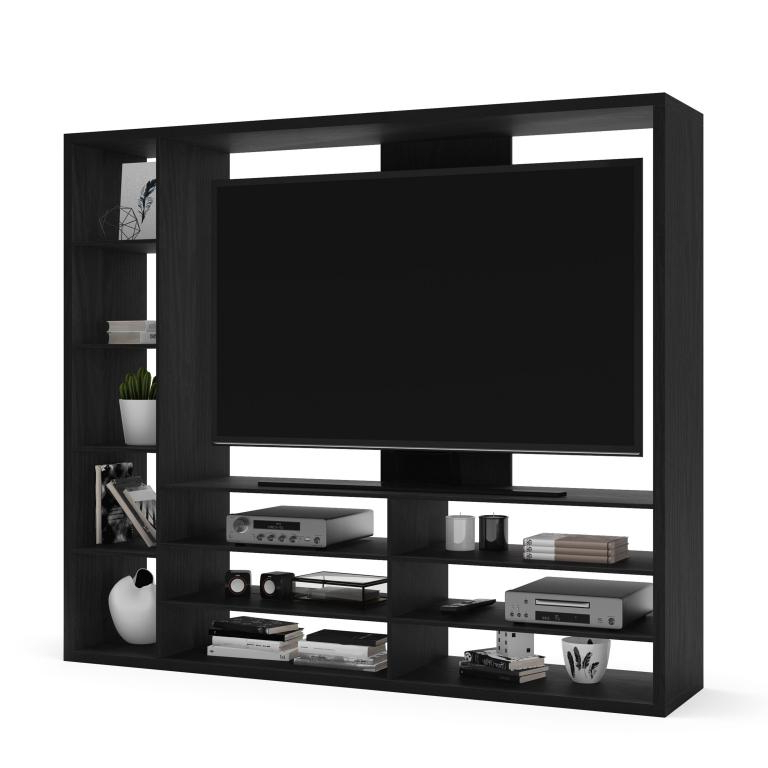 Mainstays Parsons Tv Stands With Multiple Finishes Within Most Current Mainstays Entertainment Center For Tvs Up To 55″, Ideal Tv (View 10 of 10)