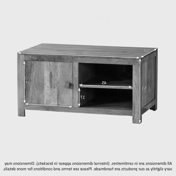Mantis Light Widescreen Tv + Dvd Cabinet In Natural Solid For Popular Kemble For Tvs Up To  (View 6 of 25)