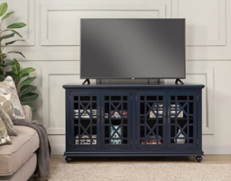 """Martin Svensson Home Elegant Tv Stands In Multiple Finishes Throughout Widely Used Martin Svensson Home Avalon 63"""" Tv Stand, W X 35"""" H (View 9 of 10)"""