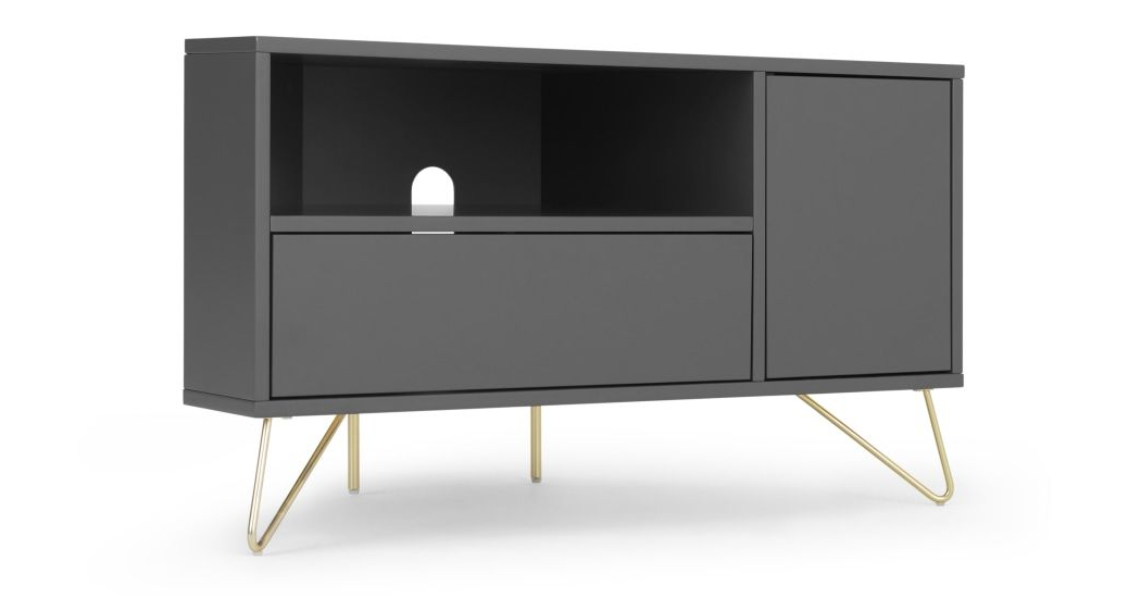 Media Unit Throughout Well Liked Fulton Corner Tv Stands (View 10 of 10)