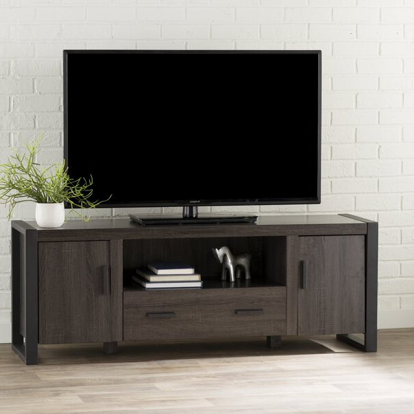 """Mercury Row Theodulus Tv Stand For Tvs Up To 78"""" & Reviews Intended For Well Known Ansel Tv Stands For Tvs Up To 78"""" (View 24 of 25)"""