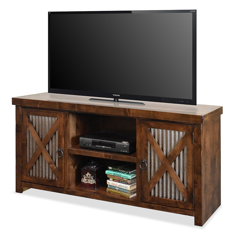 """Millwood Pines Bettie Solid Wood Tv Stand For Tvs Up To 70 With Current Solid Wood Tv Stands For Tvs Up To 65"""" (View 22 of 25)"""