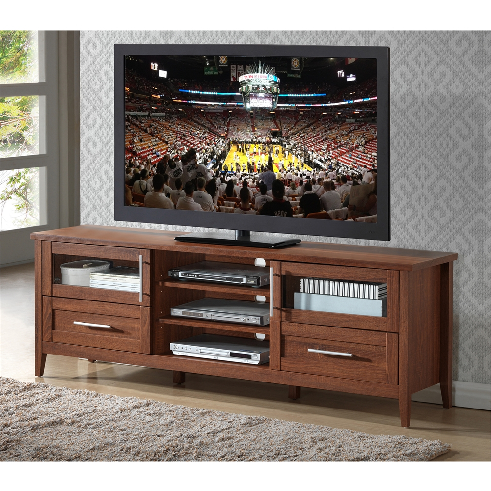 """Modern Tv Stand With Storage For Tvs Up To 75"""" (View 2 of 10)"""