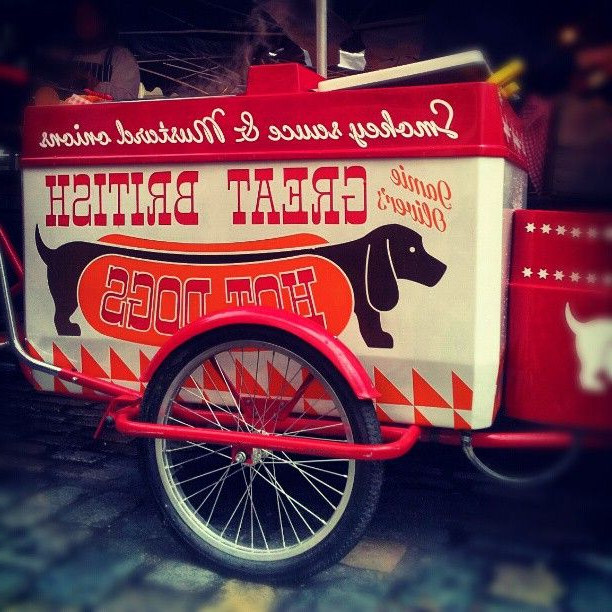Most Current @jamie Oliver's Awesome Hot Diggity Hot Dog Stand At Throughout Covent Tv Stands (View 16 of 25)