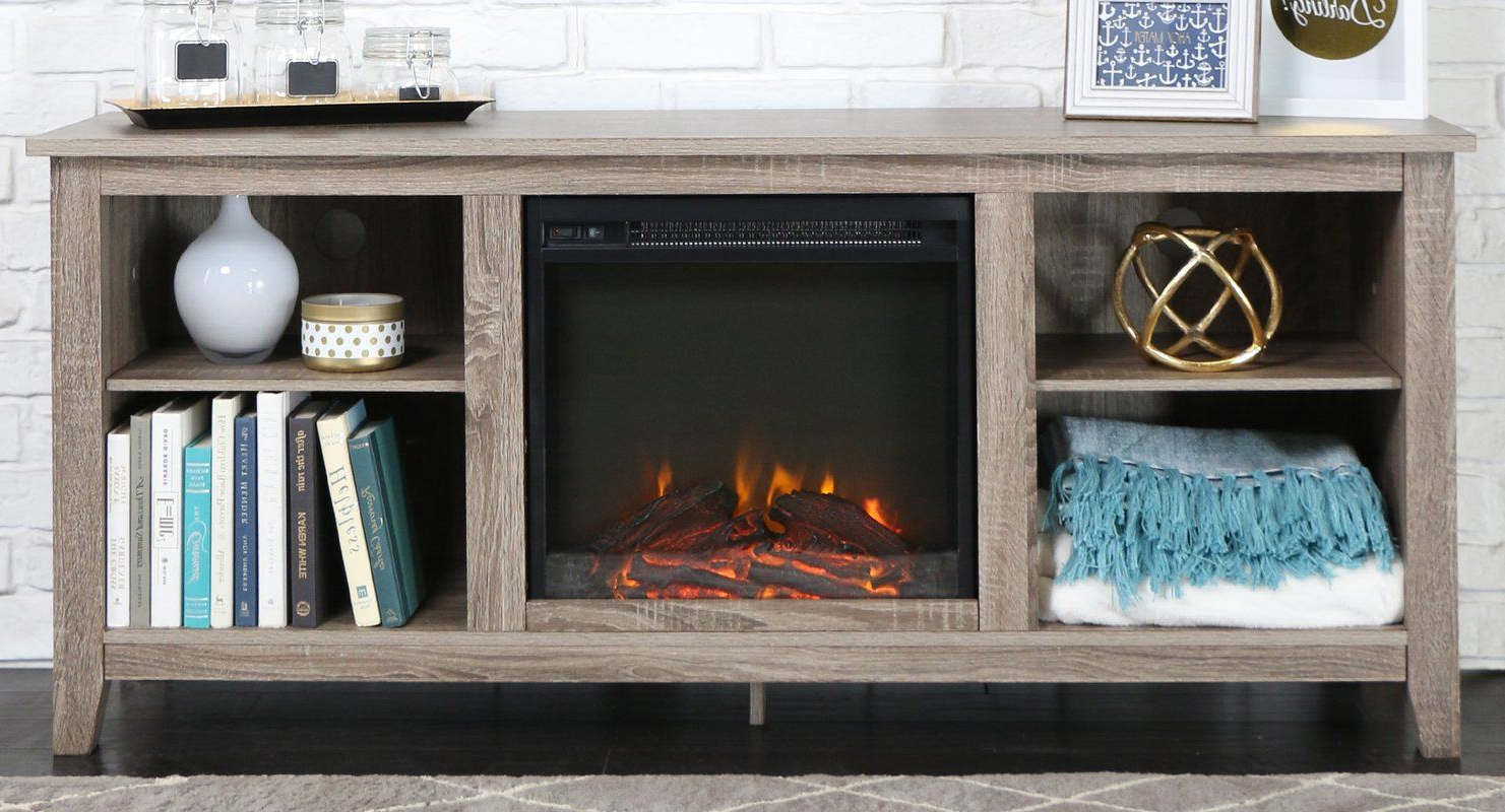 """Most Current Sunbury Tv Stands For Tvs Up To 65"""" Pertaining To Sunbury Tv Stand For Tvs Up To 65"""" With Fireplace Included (View 19 of 25)"""