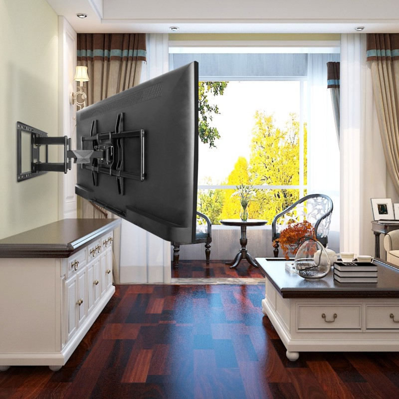 """Most Current Top 10 Best Full Motion Tv Wall Mount In 2021 – Reviews In Casey May Tv Stands For Tvs Up To 70"""" (View 21 of 25)"""