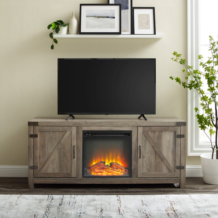 """Most Current Trent Austin Design® Adalberto Tv Stand For Tvs Up To 65 Pertaining To Adalberto Tv Stands For Tvs Up To 78"""" (View 12 of 25)"""