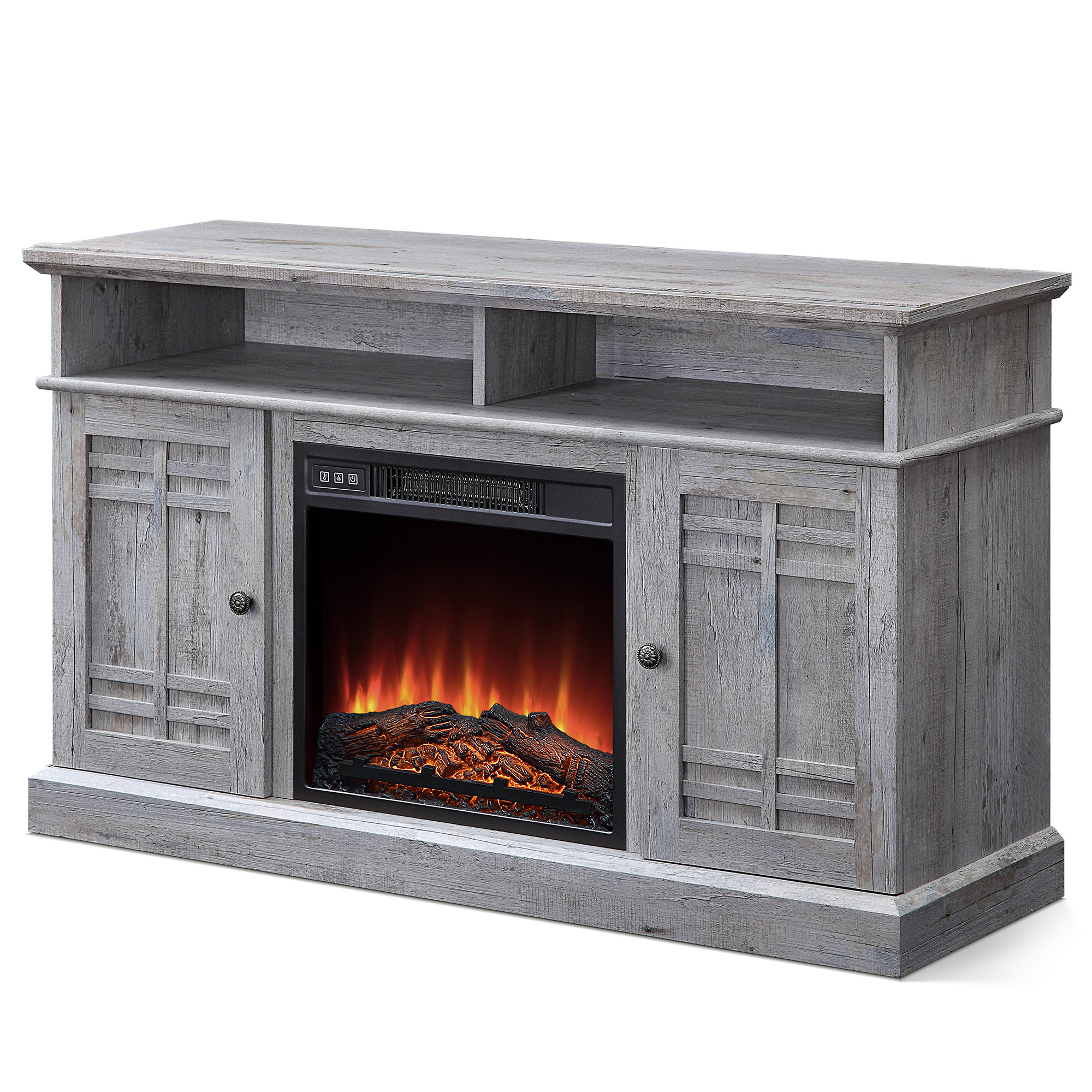 """Most Popular 48"""" Tv Stand Console Media Shelves For Tvs Up To 50"""" W Inside Jowers Tv Stands For Tvs Up To 65"""" (View 22 of 25)"""