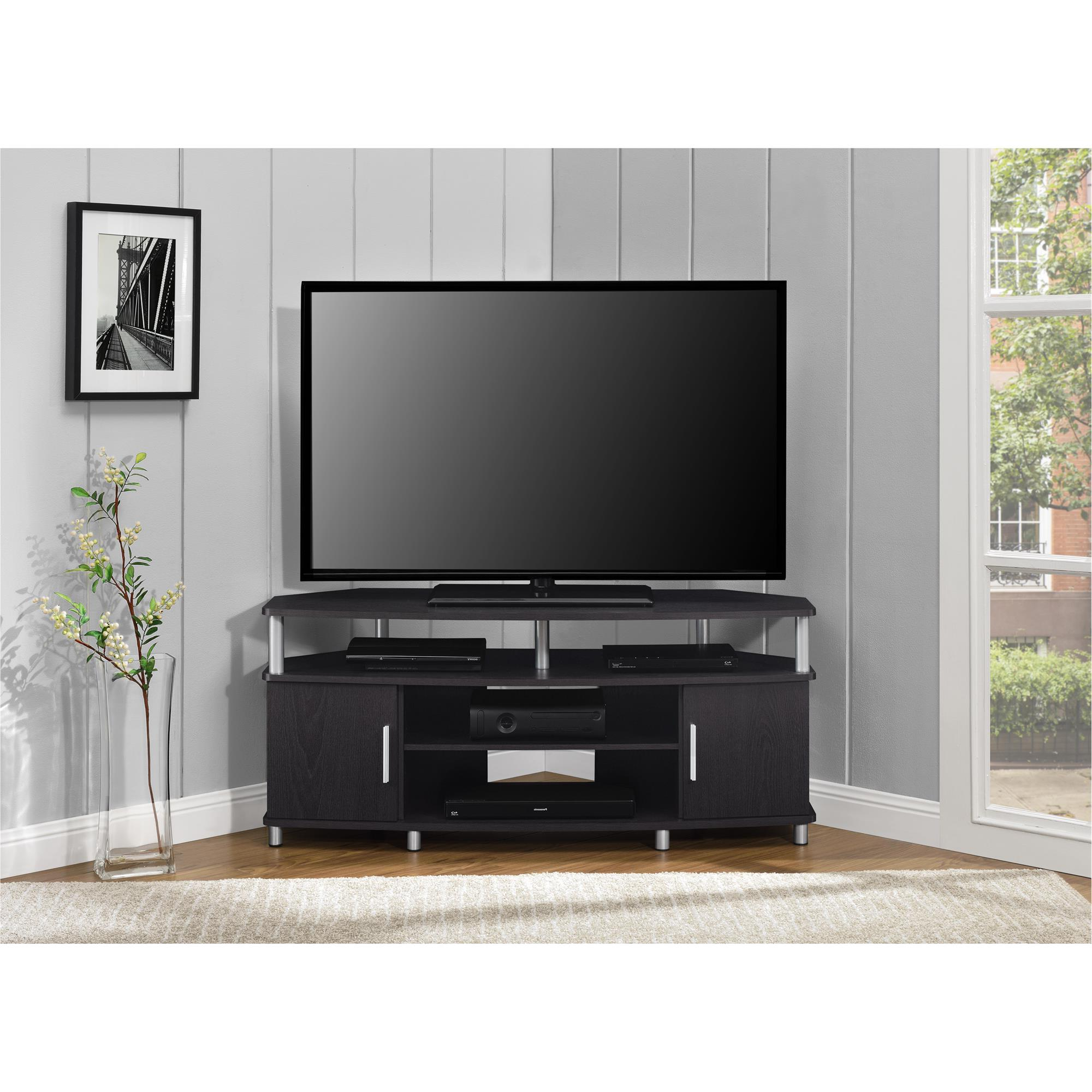 """Most Popular Ameriwood Home Carson Corner Tv Stand For Tvs Up To 50 With Tv Stands For Tvs Up To 50"""" (View 4 of 25)"""