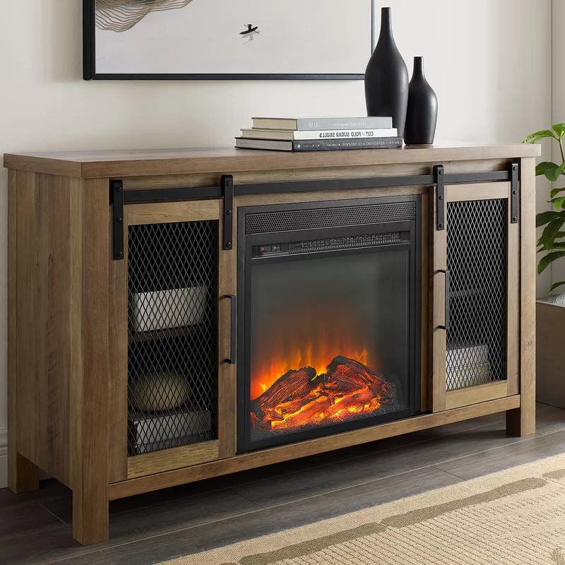 """Most Popular Chicago Tv Stands For Tvs Up To 70"""" With Fireplace Included In Mahan Tv Stand For Tvs Up To 55 Inches With Fireplace (View 12 of 25)"""