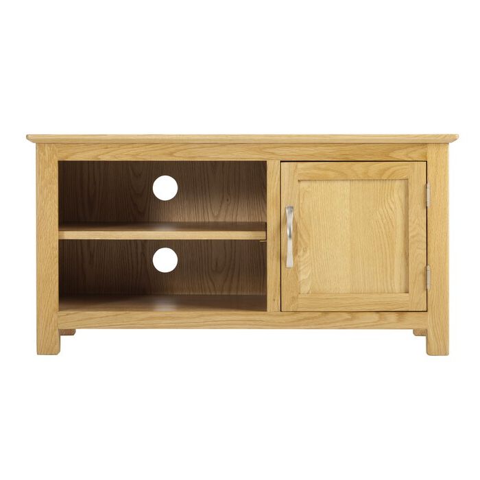 """Most Popular Maubara Tv Stands For Tvs Up To 43"""" Within Gracie Oaks Vesper Solid Wood Tv Stand For Tvs Up To  (View 13 of 25)"""