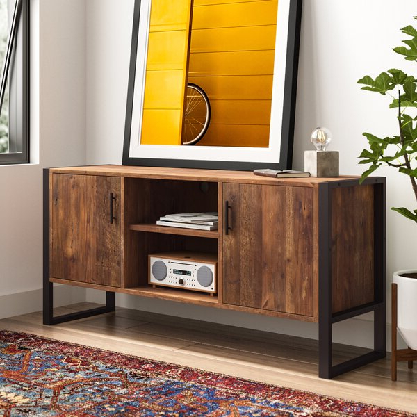 """Most Popular Paulina Tv Stands For Tvs Up To 32"""" Pertaining To Norah Solid Wood Tv Stand For Tvs Up To 65 Inches (View 18 of 25)"""