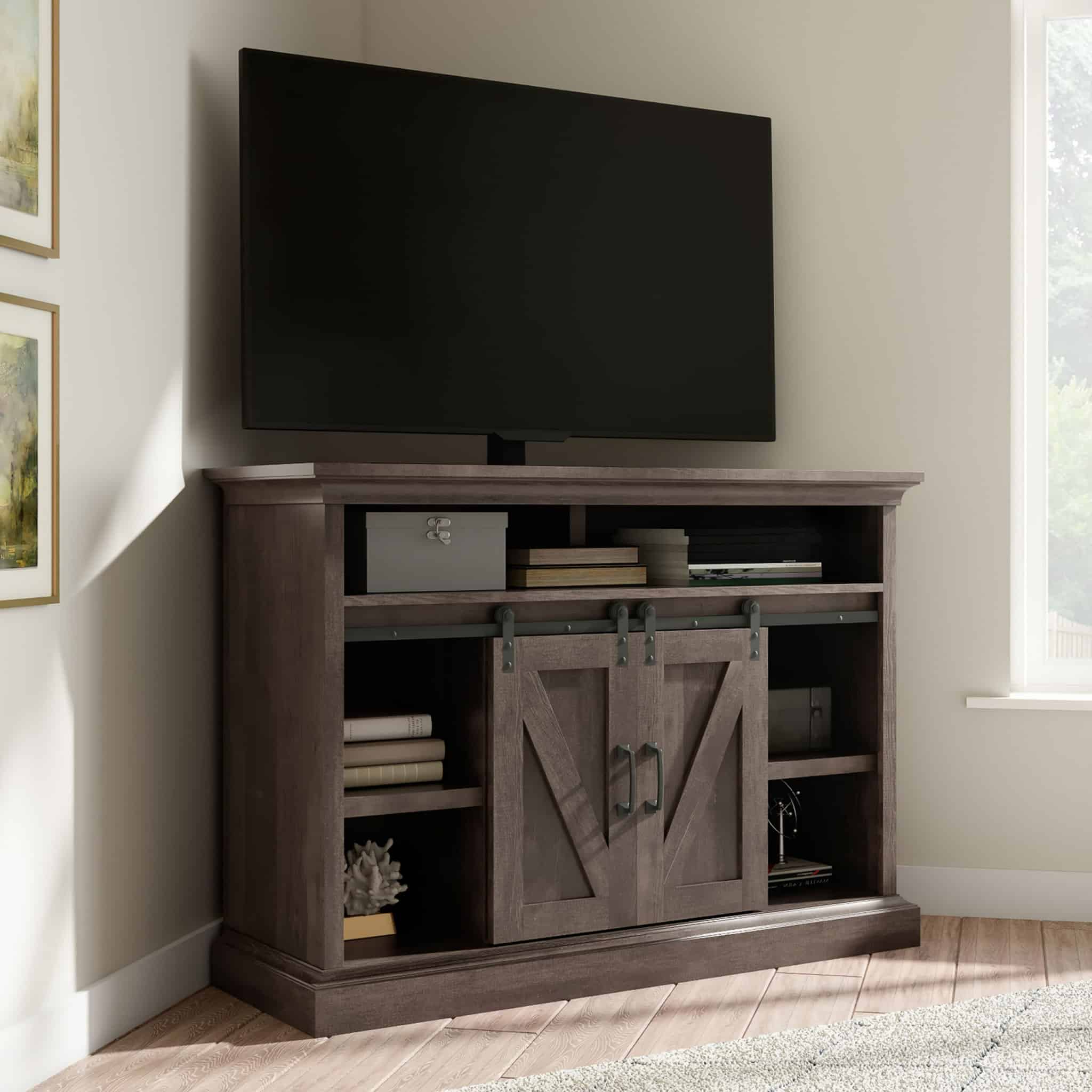 Most Popular Whalen Payton 3 In 1 Flat Panel Tv Stands With Multiple Finishes With Regard To Payton 3 In 1 Tv Stand – Whalen (View 4 of 10)