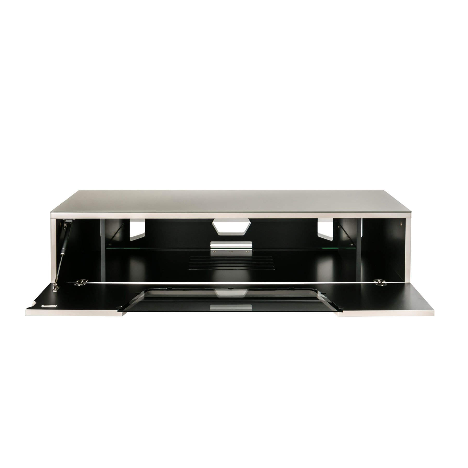 """Most Recent Alphason Chromium 2 120cm Ivory Tv Stand For Up To 60"""" Tvs Regarding Chromium Tv Stands (View 15 of 25)"""