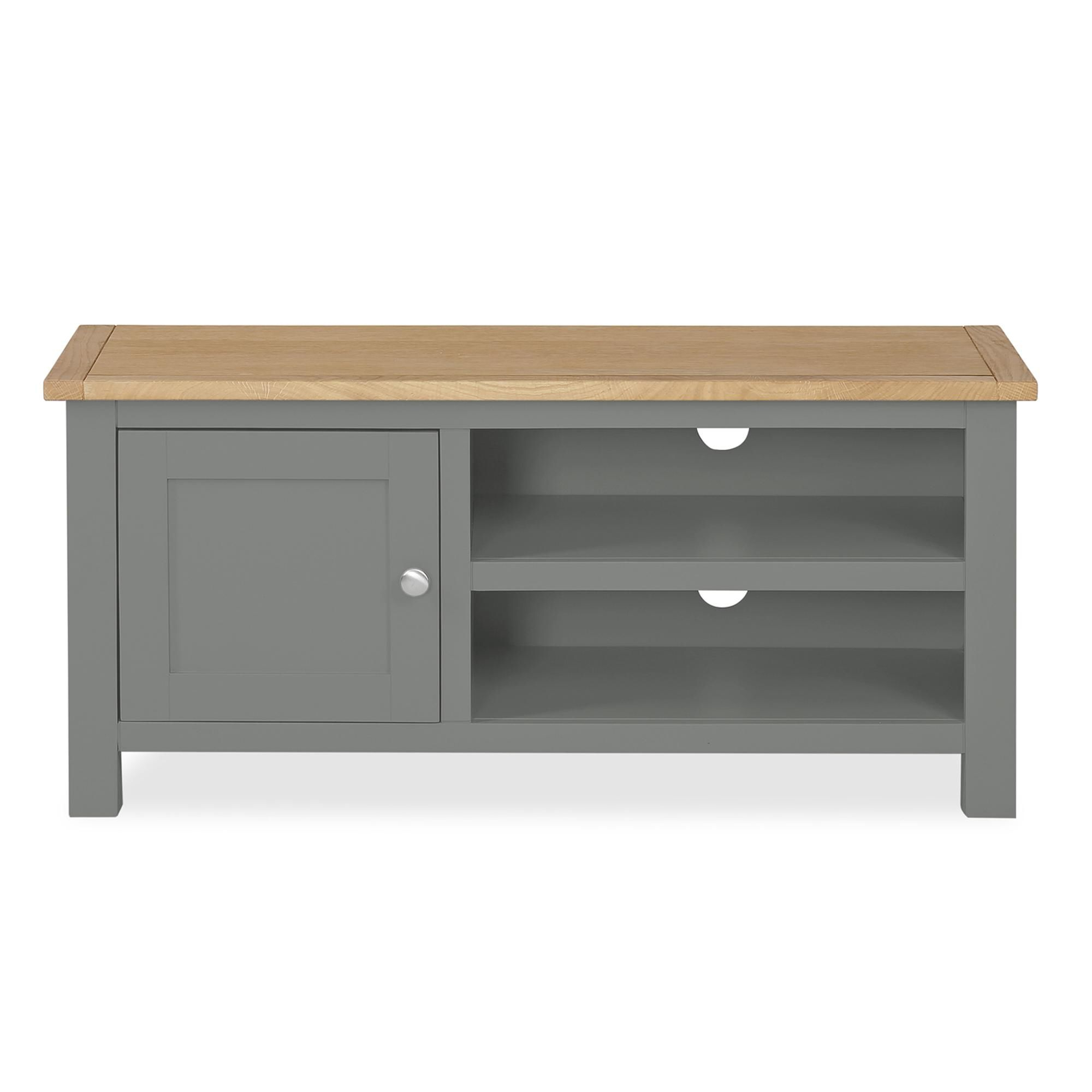 Most Recent Bromley Slate Corner Tv Stands With Regard To Ready Assembled Grey Living Room Furniture – Dlivingroomku (View 2 of 10)