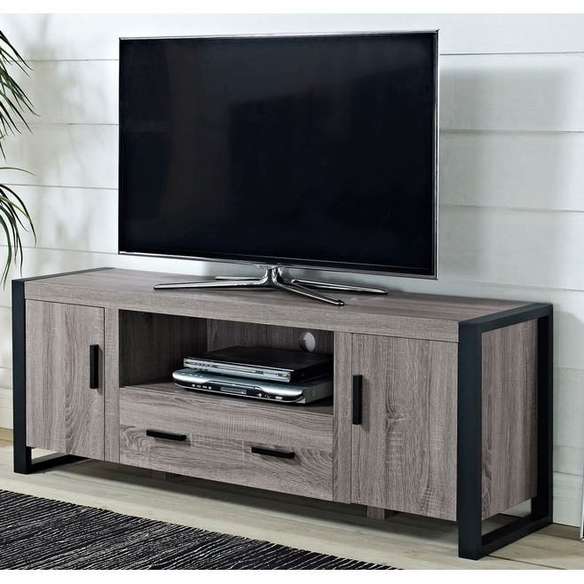 """Most Recent Casey May Tv Stands For Tvs Up To 70"""" In Reclaimed Wood Tv Stand – 60 Inches In Tv Stands (View 3 of 25)"""