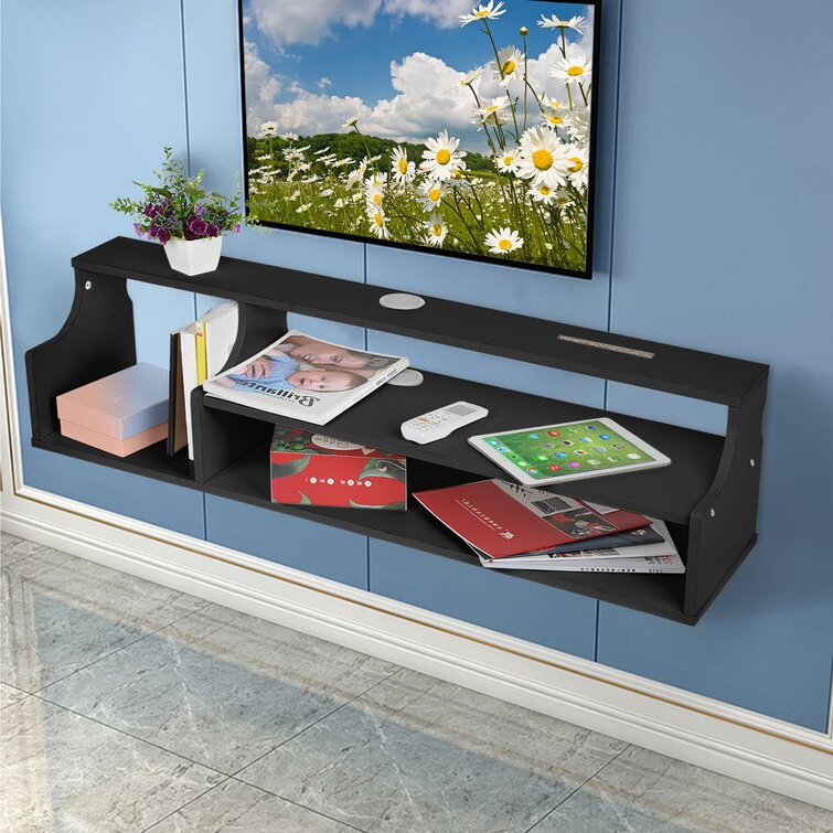 """Most Recent Ebern Designs Jephthah Tv Stand For Tvs Up To 43"""" (View 25 of 25)"""