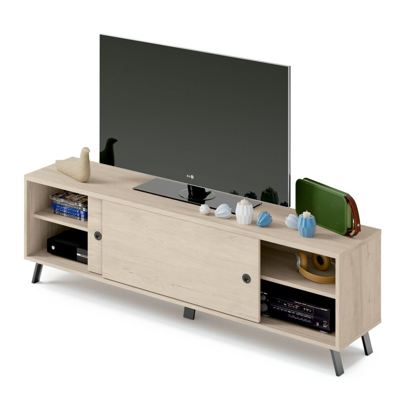 """Most Recent Ebern Designs Vikesha Tv Stand For Tvs Up To 78"""" (View 14 of 25)"""