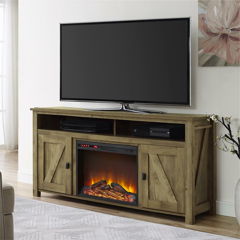 """Most Recent Mistana Whittier Tv Stand For Tvs Up To 60"""" With Electric In Kasen Tv Stands For Tvs Up To 60"""" (View 25 of 25)"""