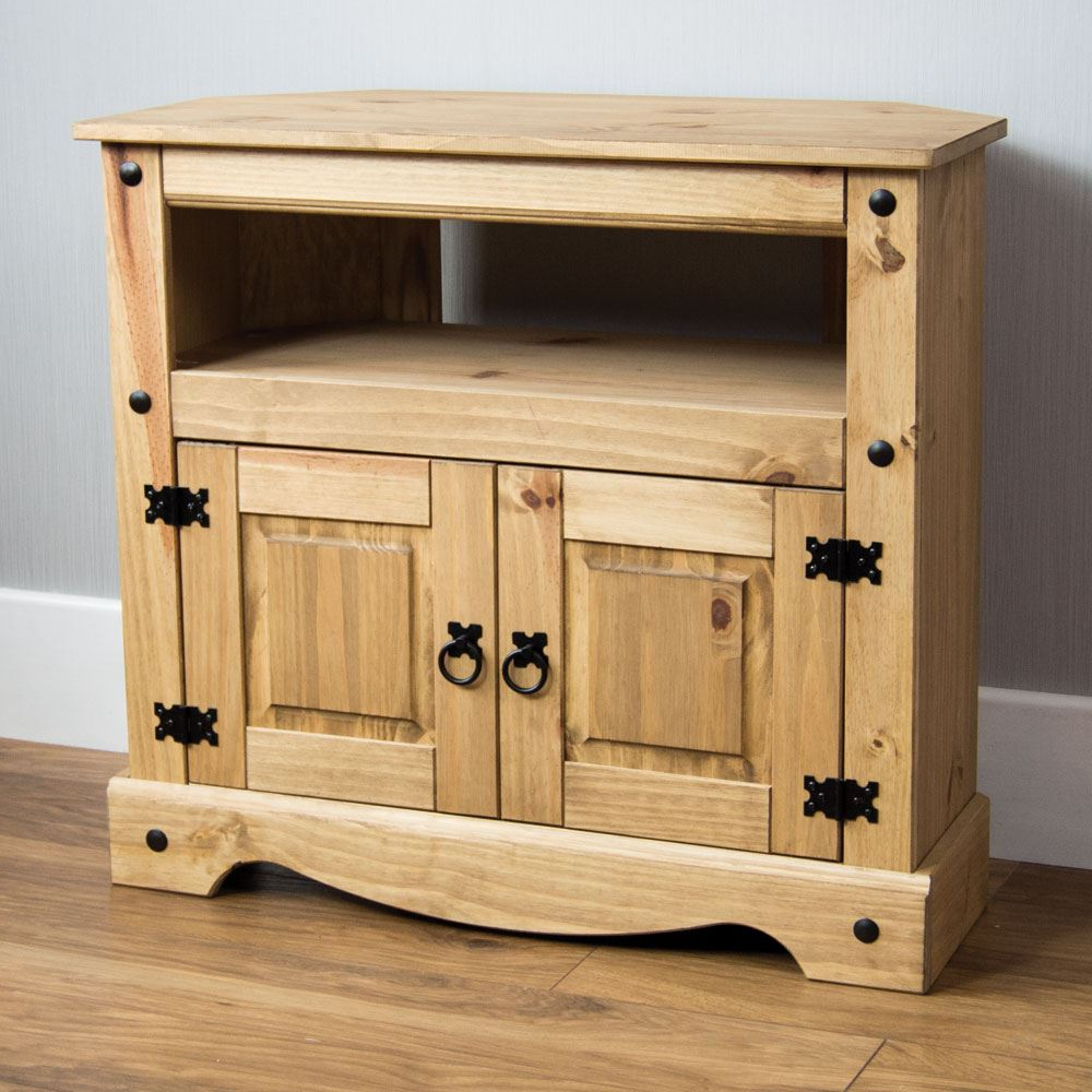 Most Recent Panama Tv Stands For Corona Panama Tv Cabinet Media Dvd Unit Solid Pine Wood (View 8 of 25)