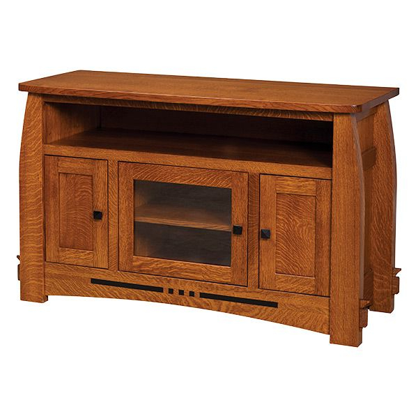 Most Recent Pin On Craftsman For Canyon Oak Tv Stands (View 3 of 10)