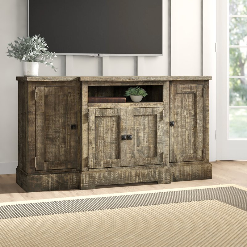"""Most Recent Wanston Solid Wood Tv Stand For Tvs Up To 65 Inches Throughout Tv Stands For Tvs Up To 65"""" (View 20 of 22)"""