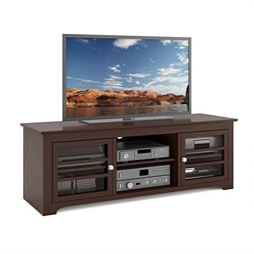 Most Recently Released Atlin Designs Tv Stand In Dark Espresso (View 6 of 10)
