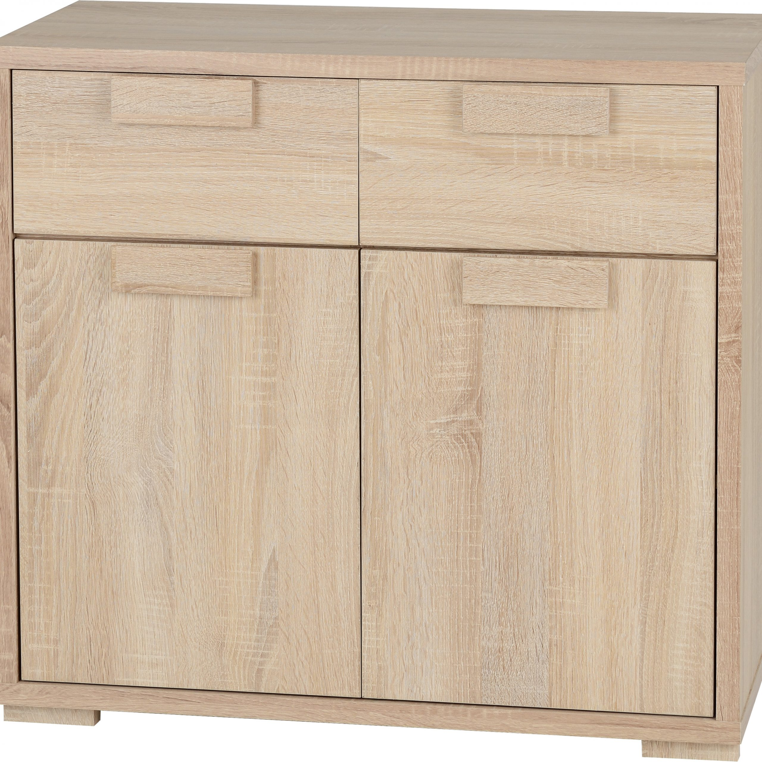 Most Recently Released Cambourne 2 Door 2 Drawer Sideboard In Sonoma Oak Effect With Regard To Cambourne Tv Stands (View 6 of 10)