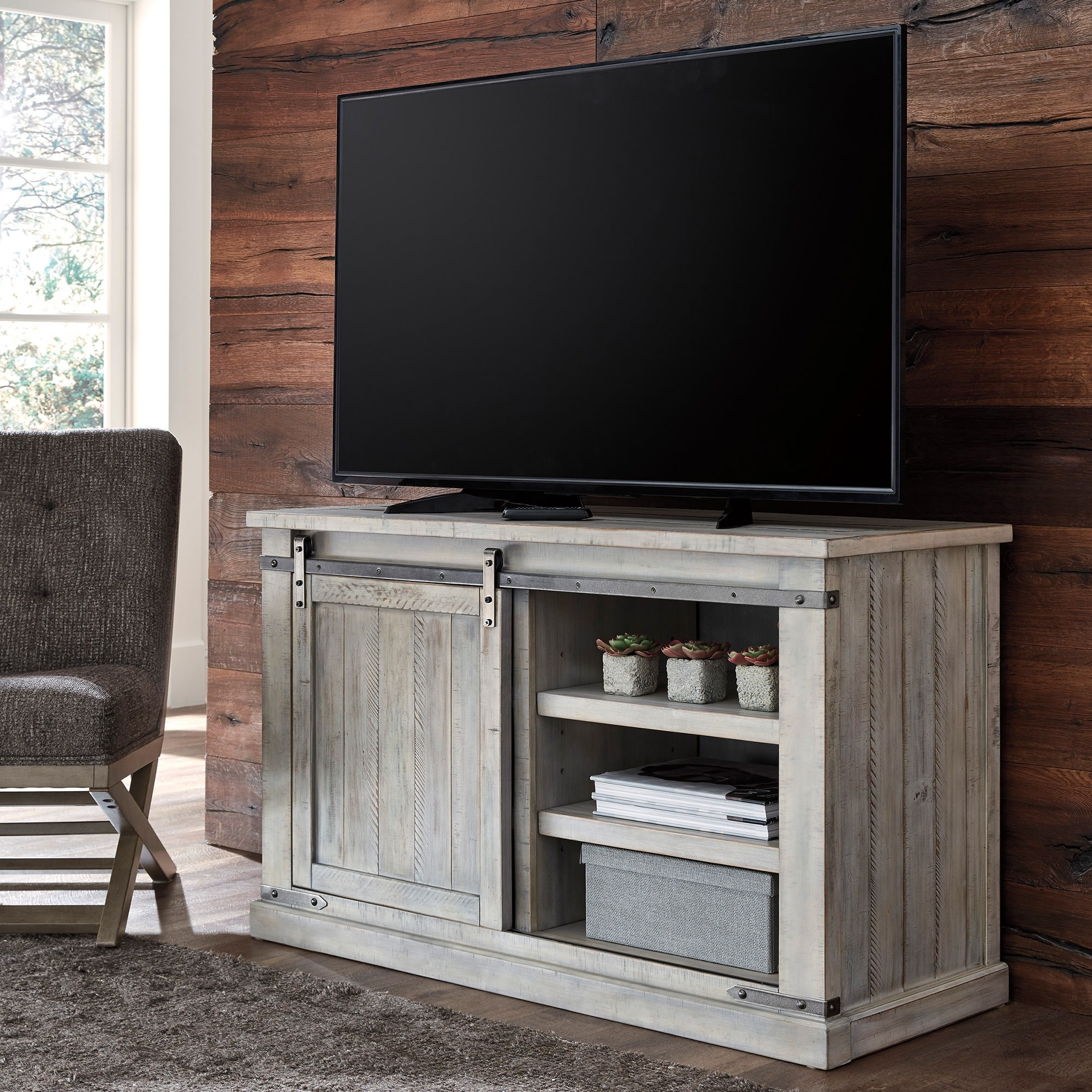 """Most Recently Released Carynhurst Medium 50 Inch Tv Stand – Bernie & Phyl's Inside Leonid Tv Stands For Tvs Up To 50"""" (View 14 of 25)"""