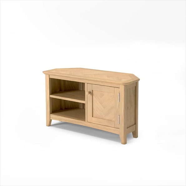 Most Recently Released Cotswold Widescreen Tv Unit Stands With Cotswold Oak Corner Tv Unit Buy Online (View 9 of 10)